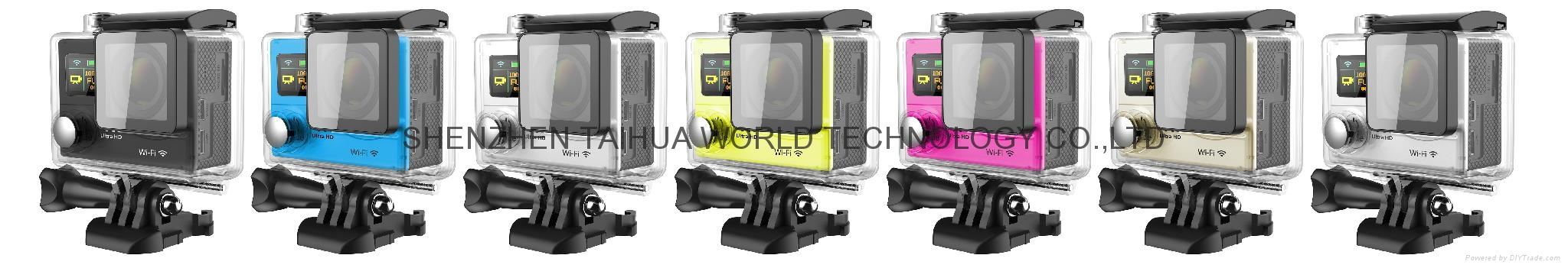 HOT video camera underwater hd H3 WIFI 4K action camera sports camera 10