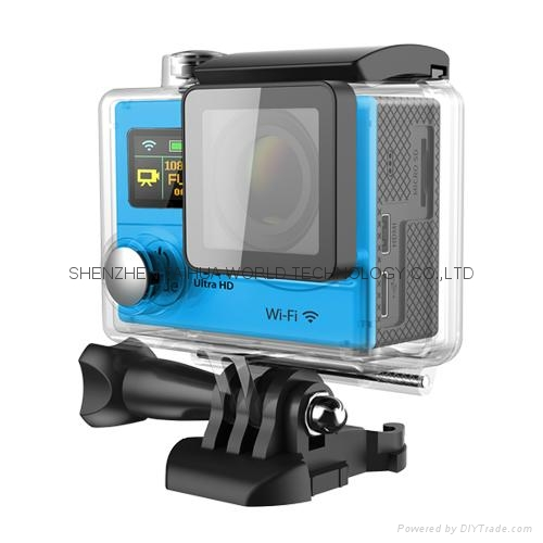 HOT video camera underwater hd H3 WIFI 4K action camera sports camera 1