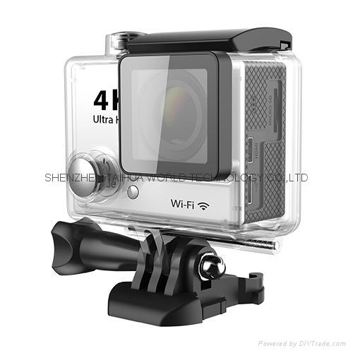 Hot video camera waterproof hd  sports camera H2R remote control 4K action cam 1
