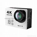 Hot video camera waterproof hd  sports camera H2R remote control 4K action cam 5