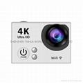 Hot video camera waterproof hd  sports camera H2R remote control 4K action cam 6