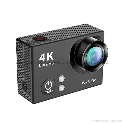 Hot video camera waterproof hd  sports camera H2R remote control 4K action cam 3