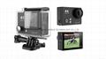Hot video camera waterproof hd  sports camera H2R remote control 4K action cam 7