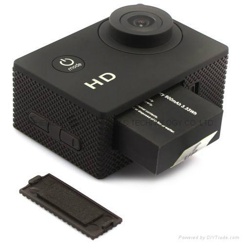 Cheapest sports dv SJ4000 hd 720p action camera 30m watertight mini camera 3