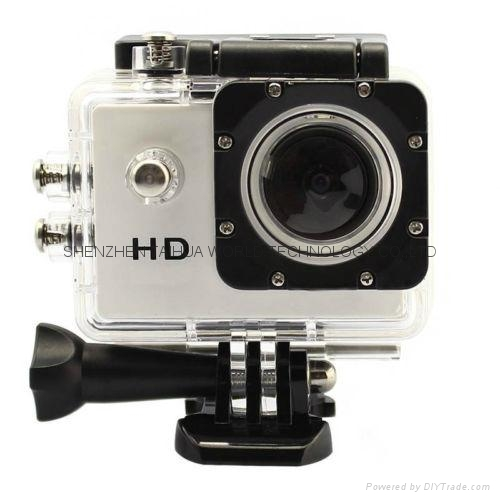 Cheapest sports dv SJ4000 hd 720p action camera 30m watertight mini camera 1