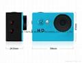 Cheapest sports dv SJ4000 hd 720p action camera 30m watertight mini camera 5