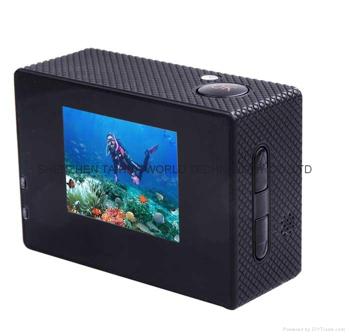 Cheapest sports dv SJ4000 hd 720p action camera 30m watertight mini camera 6