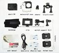Cheapest sports dv SJ4000 hd 720p action camera 30m watertight mini camera 10
