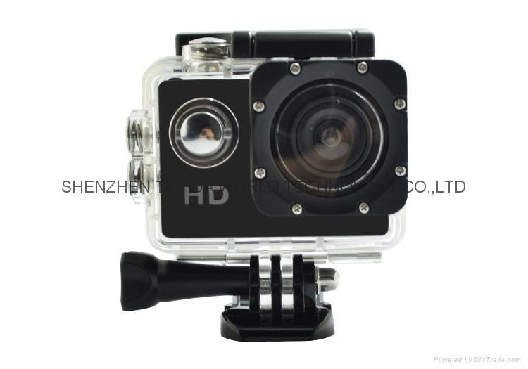 SJ5000 new product sport video camera 720P waterproof  colorful camera 1