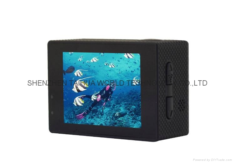 WIFI 4K sport diving video cam F68  extreme sports action video camera   9