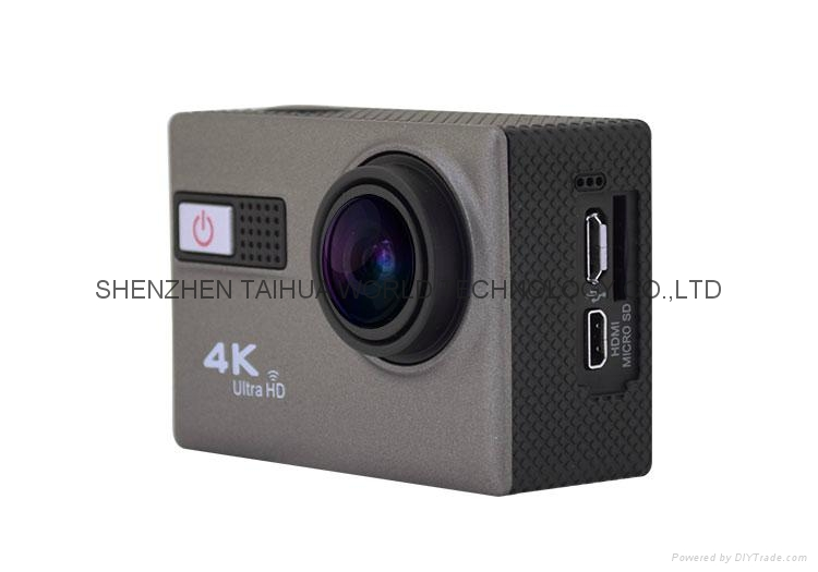 WIFI 4K sport diving video cam F68  extreme sports action video camera   2