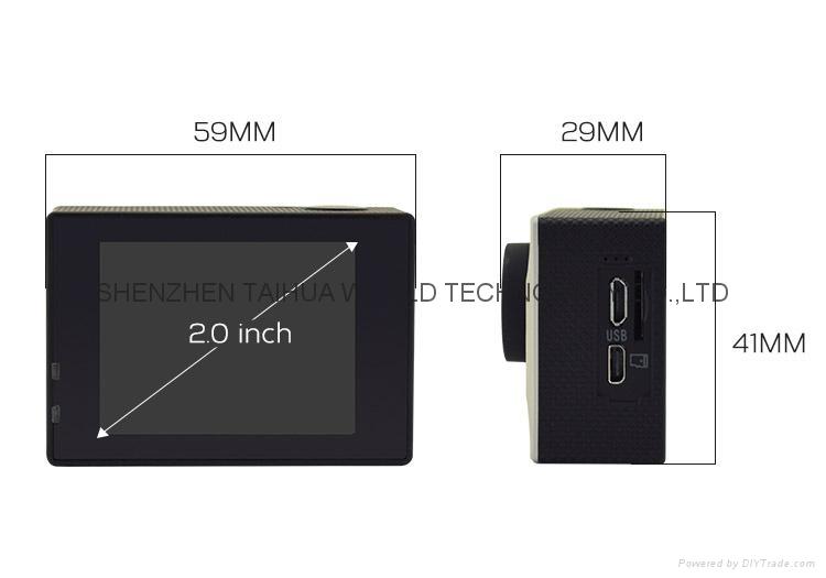 New Full HD Wifi 1080P Waterproof Action Sport Camera H16 7