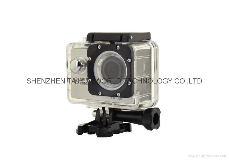 New Full HD Wifi 1080P Waterproof Action Sport Camera H16 4