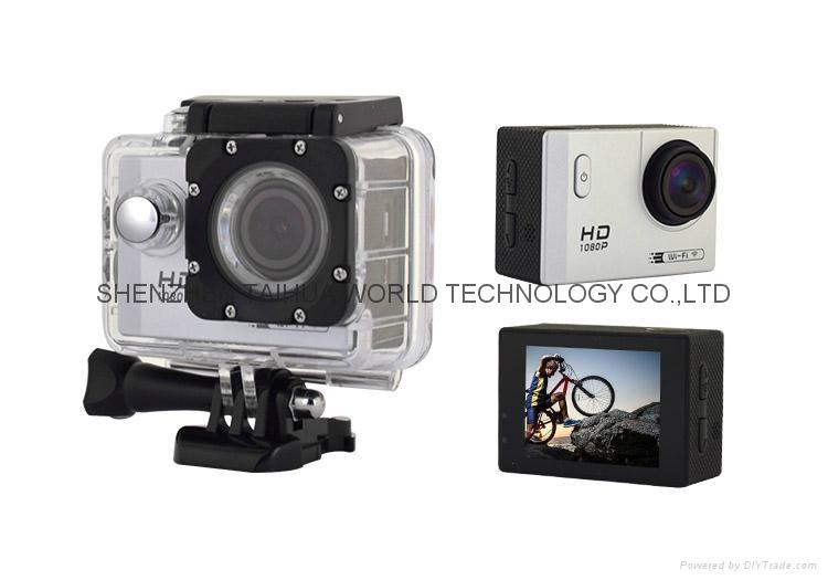 NEW full hd mini 1080p action camera F71 WIFI camcorder sport camera 1
