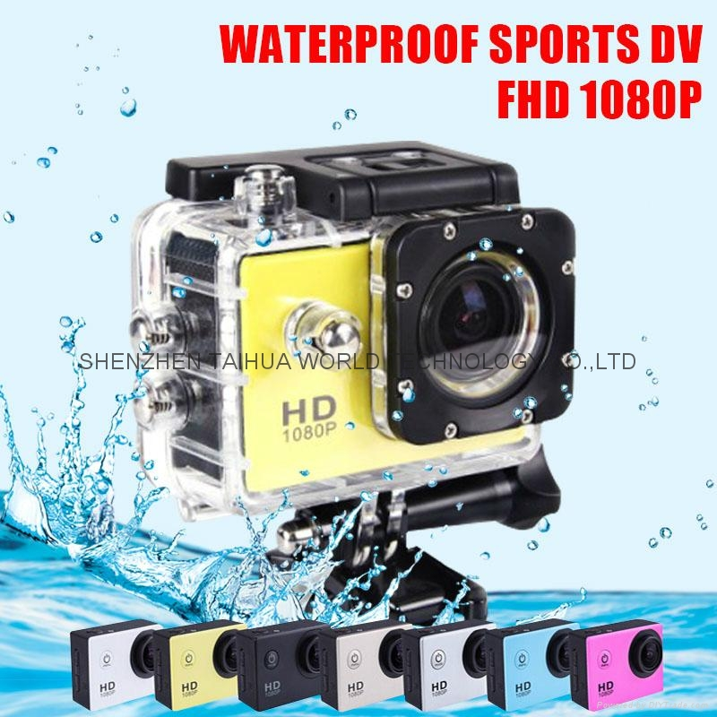 Original sports dv SJ4000 hd 1080P action camera 30m watertight mini camera 1