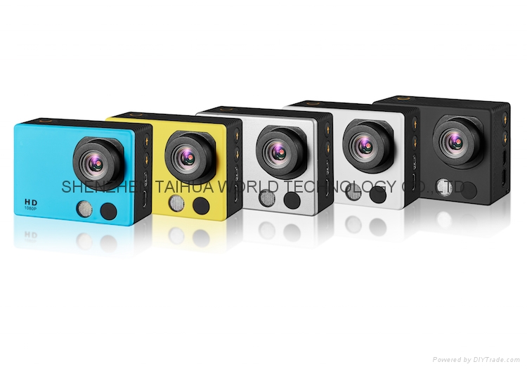 Factory wholesale A3 waterproof camera full hd 1080p with touch panel 9