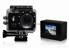 Waterproof WIFI sport action camera SJ4000 with 12.0M full hd 1080p mini camera