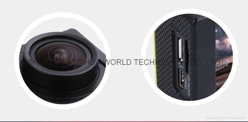 Best selling SJ5000 WIFI 30M waterproof sport video recorder camera mini dv 7