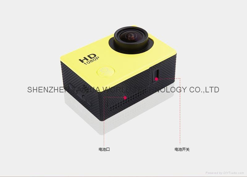 Best selling SJ5000 WIFI 30M waterproof sport video recorder camera mini dv 3