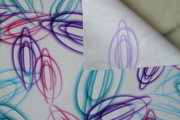 FloralPrinted Fabric TableCover 3
