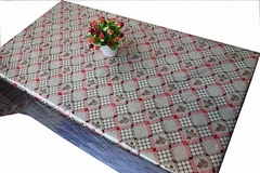 fancy dining pvc table cloth