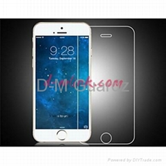 9H hardness 2.5D round edge tempered glass screen protector for iphone6&iphone6