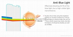 Anti-Blue Light Tempered Glass Screen Protector for iPhone 5