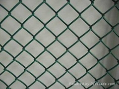 PVC coated chain link fence FATCTORY DIRECT