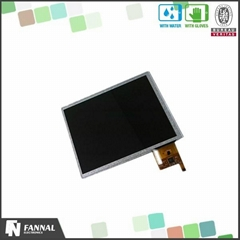 Digital interface 5touch 550 brightness 8 inch linux compatible touch screen