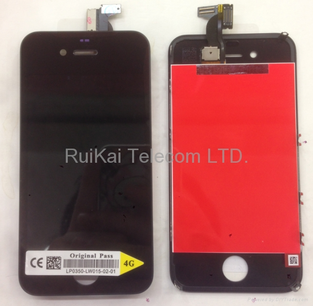 iPhone 4 4g LCD Touch Screen Digitizer Assembly Complete