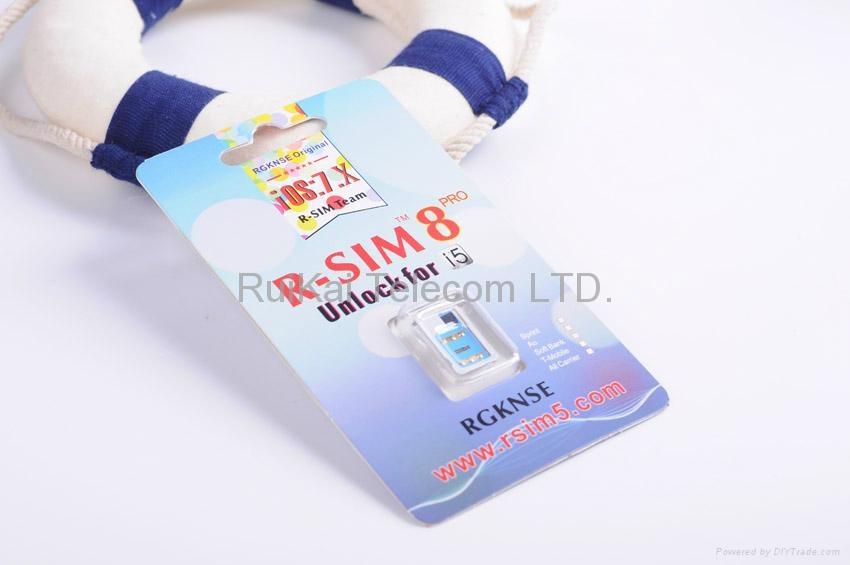 R-SIM 8 PRO Unlock Sim Card for iPhone 5 iOS7.X