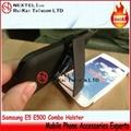 Samsung E5 Combo holster E5 Combo case E5 Holster