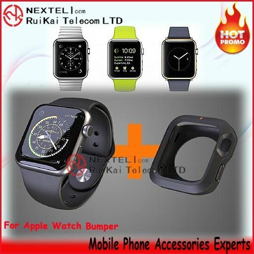 Apple watch bumper protector case