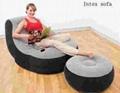 Intex Air Sofa With Foot Rest
