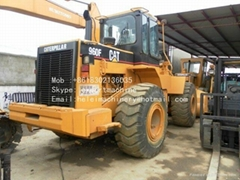Wheel Loader 966eE Used CATERPILLAR 966F FRONT LOADER