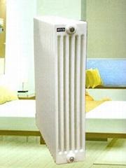 QFGZY406/600-1.0型鋼管柱型暖氣片鋼制柱型散熱器