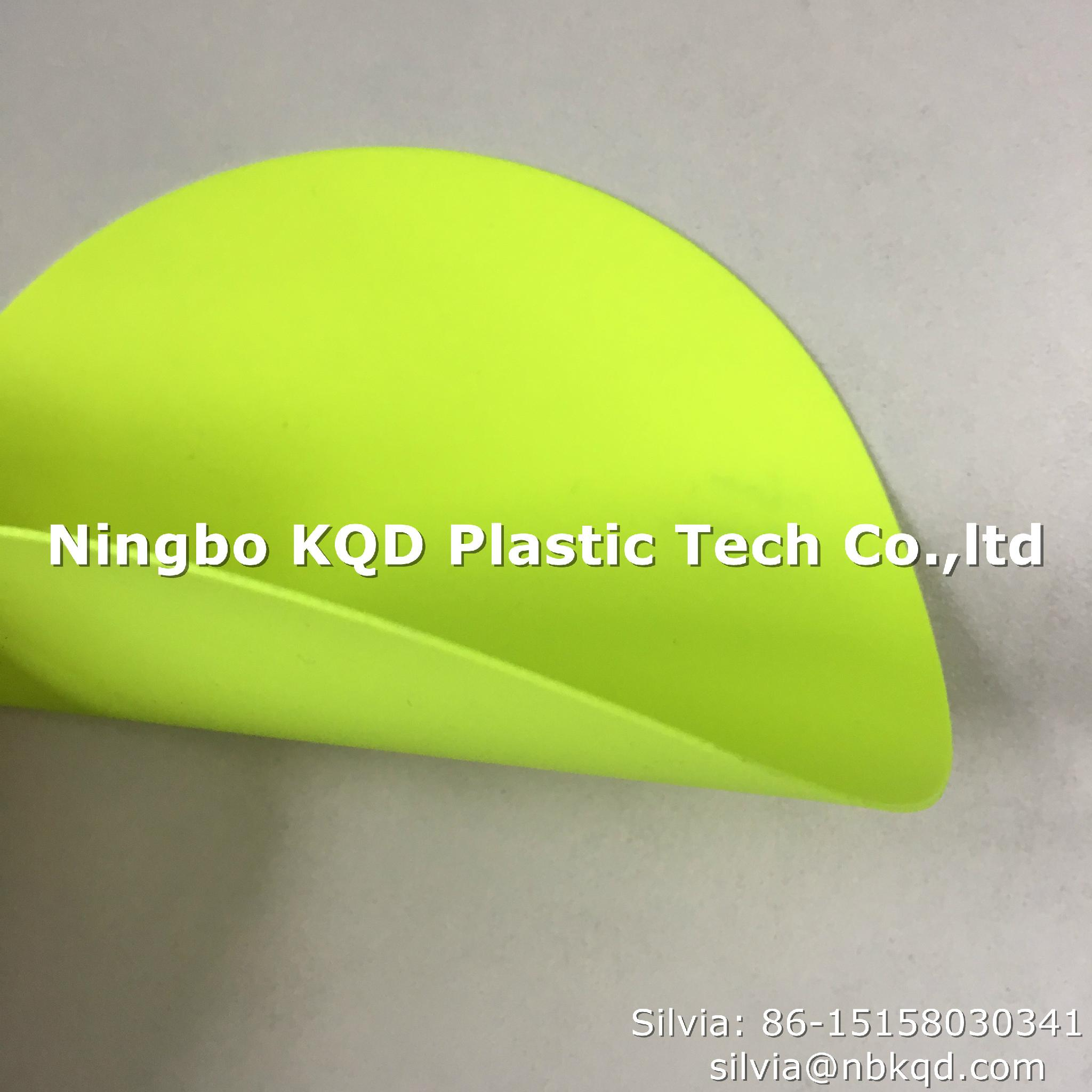 Flame Retardant Fluorescent PVC Coated Fabric for Chemical Protective Clothing  1