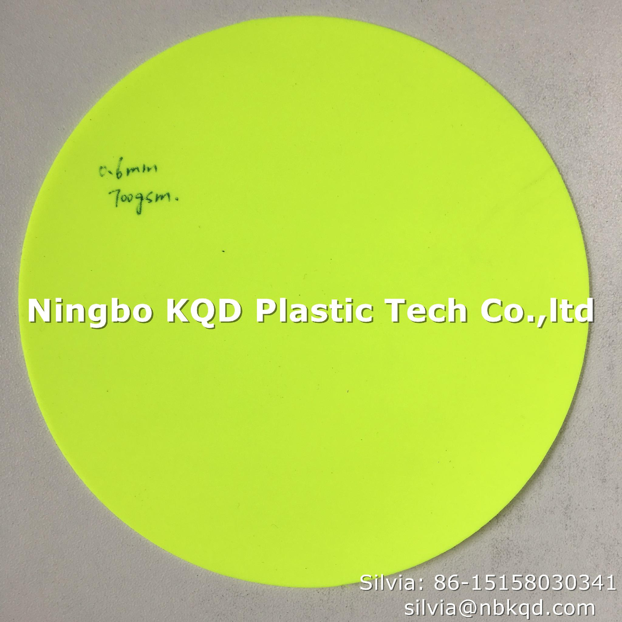 Flame Retardant Fluorescent PVC Coated Fabric for Chemical Protective Clothing  3