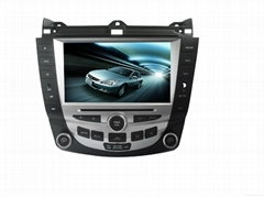 Audio Car DVD Player Compatible with Honda Accord 07 Bluetooth Radio Car DVD