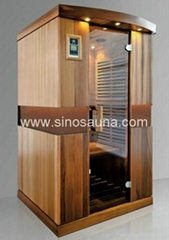 2015 New Commercial Use Beauty Ultra Low EMF Far Infrared Russian Sauna Room