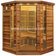 2015 Big Corner Sauna Far Infrared Sauna Room With Oxygen Ionizer