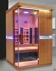 New Coming 2 people full spectrum heater combine carbon heater infrared sauna