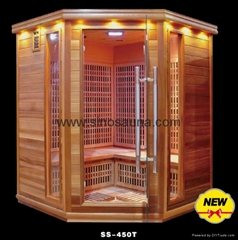 Patented Product Russian Infrared Home Slim Sauna Room for Skin Beauty (CE)