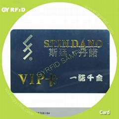 id card,smart card for customer loyalty system (gyrfidstore)