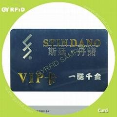 id card,smart card for customer loyalty system (gyrfidstore)