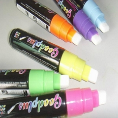 Erasable liquid chalk with 10mm nib highlighter maker pen