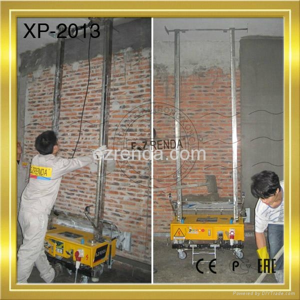 Internal wall plaster mixer used machinery for sale with cement plaster 1