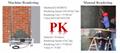 Ezrenda gypsum rendering machine for one coat plaster china plastering suppliers 2
