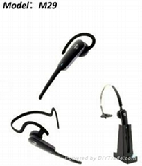 Ergonimic Design Bluetooth Headset With Three Wearing Styles