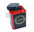 茶葉類鐵盒 4
